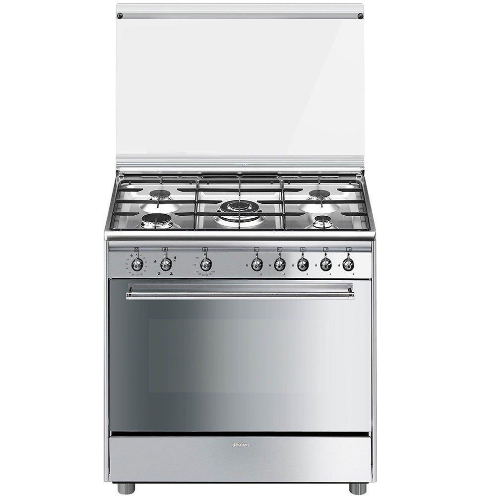 Cocina SMEG Gas 90 Cm SX91GVE9 AR