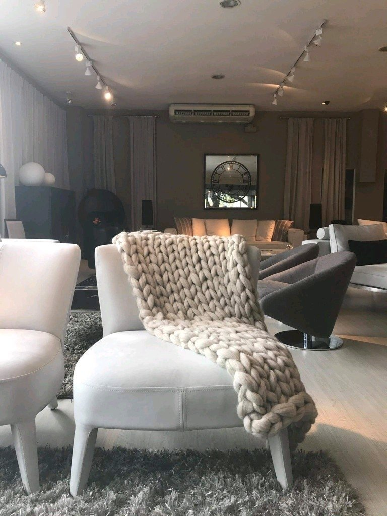 Manta Sillon tejido XL - Comprar en MBCASA