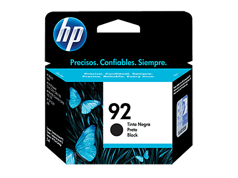 Cartucho Original HP 92 Negro