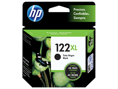 Cartucho Original HP 122 Negro XL