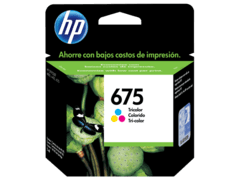 Cartucho 675 Color Original HP / CN691AL / HP 675 TRI-COLOR INK CARTRIDGE