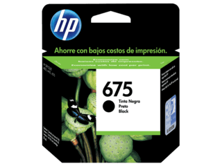 Cartucho 675 Negro Original HP / CN690AL / HP 675 Black INK CARTRIDGE - comprar online