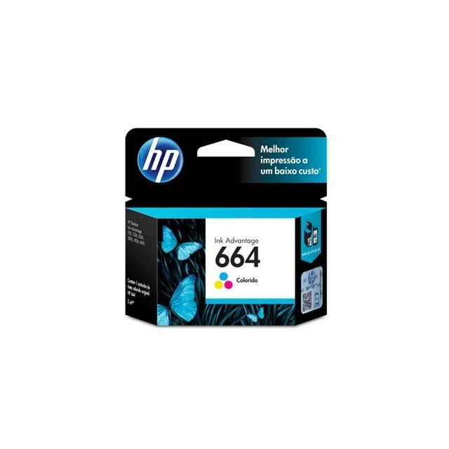 Cartucho Color Original Hp 664 Tinta 2135 3635 4535 F6v28al en internet