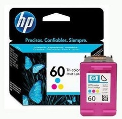 Cartucho 60 Color HP Original - HP 60 Tri-Color Ink Cartridge - Prints approximately 165 pages