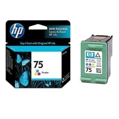 Cartucho 75 Color Original HP / HP 75 Tri-color Inkjet Print Cartridge  / CB337WL - comprar online