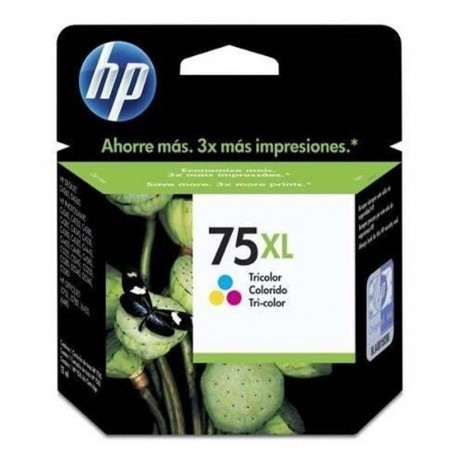 Cartucho 75 XL Color Original HP / HP 75 XLTri-color Inkjet Print Cartridge  / CB338WL - comprar online