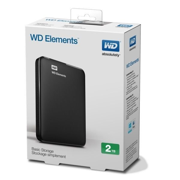 Disco Externo WD 2Tb USB 3.0 Disco Portatil