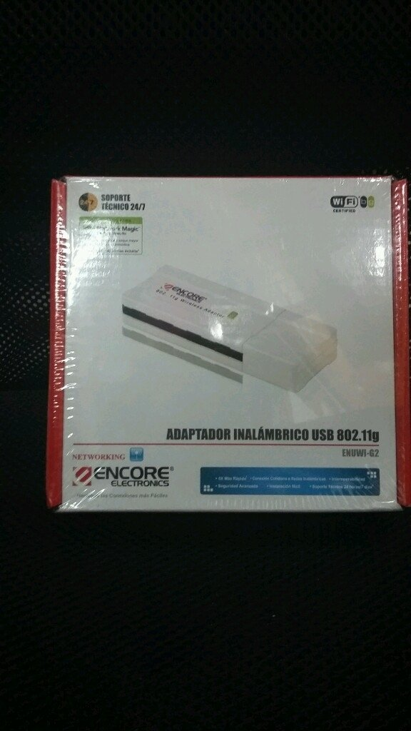Adaptador inalámbrico Wireless Wifi Usb 802.11g Encore