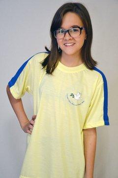 camiseta manga curta E.E Zelia Dulce