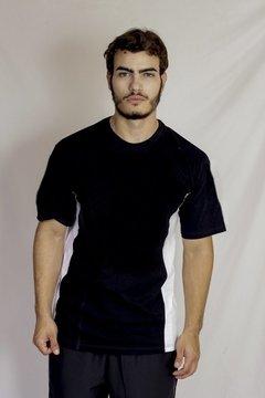 Camiseta MC Gola O em Visco Lycra
