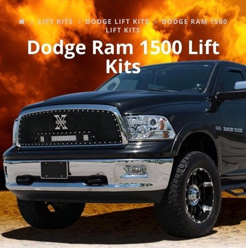KIT DE SUSPENSION 4''  RAM 1500 - comprar online