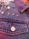 DENIM JACKET PERLAS Y TACHAS