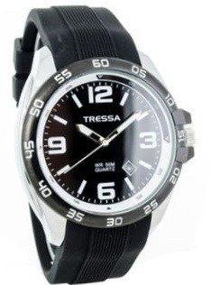 Reloj Tressa Hombre Acero Caucho Fecha W50m Garantia Oficial ... 720f36af002b