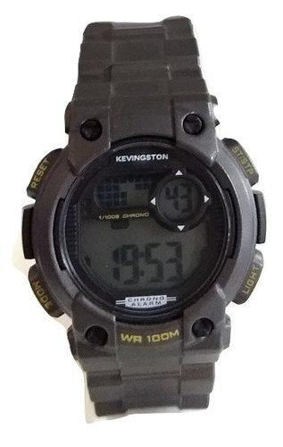 Reloj Kevingston De Tressa Digital Caucho Sumergible 100m 8721876b2a27