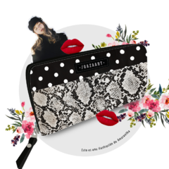 "Wallet Amarantha ""Savage Dots"" - buy online"