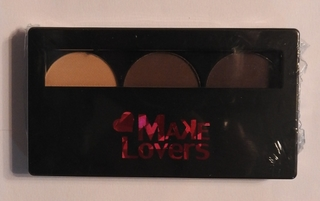 Make Lovers - Trio Sombras Matte - MS305