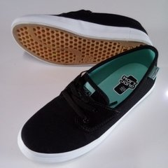 Tenis Mary Jane Snap Preto - BuiBui SkateShop