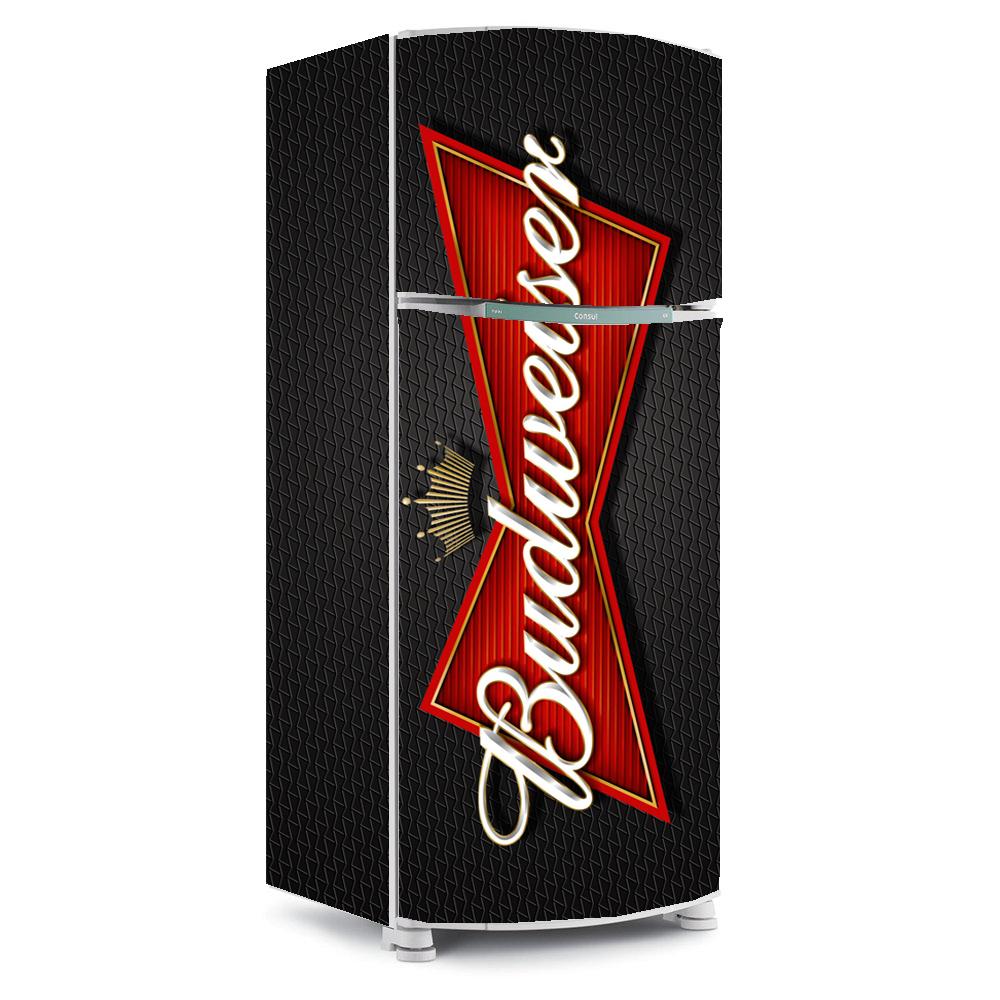 Adesivo De Parede Vinil ~ Adesivo para Geladeiras Budweiser Arte e Cores