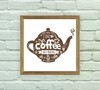 Quadro Decorativo Coffee Bule - Arte e Cores