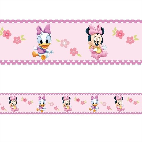 Faixa Decorativa Disney Minnie e Margarida - comprar online