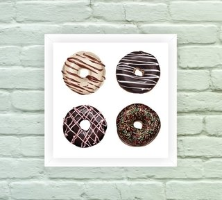 Quadro Decorativo Donuts 01 na internet