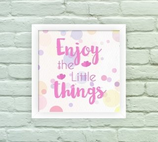 Enjoy Little Things na internet