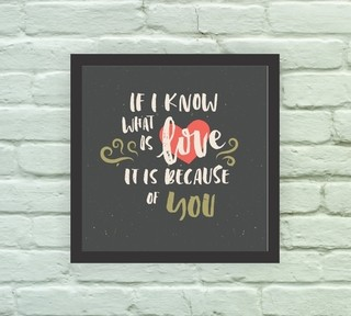 If I know what is Love - Arte e Cores