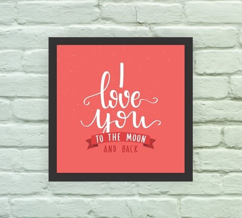 Love you to the Moon and Back - comprar online