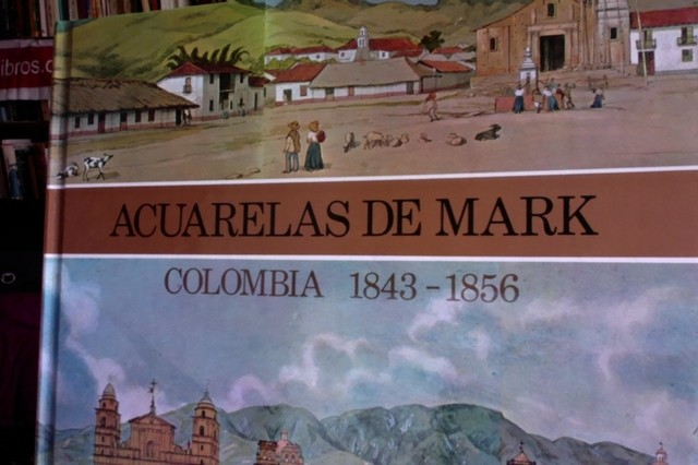 Acuarelas de Mark - Colombia 1843 - 1856