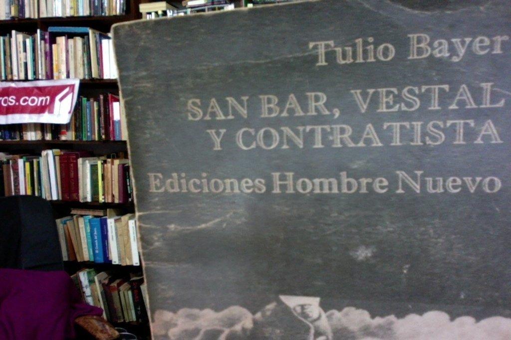 San Bar, Vestal y Contratista - Tulio Bayer