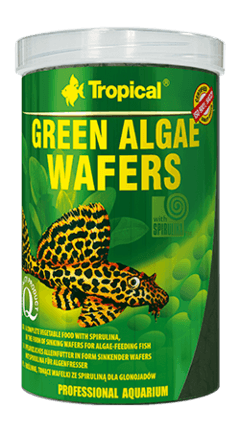 Ração Green Algae Wafers 45g Tropical