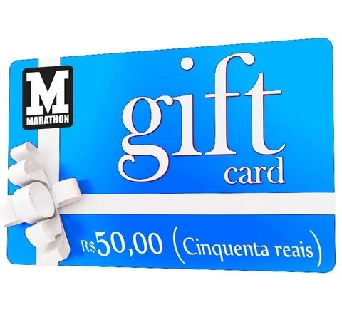 GiftCard R$50,00