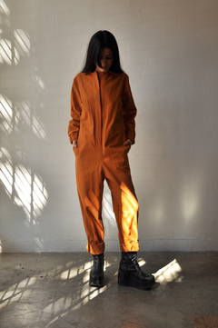 Cotton worker jumpsuit on internet