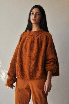 OVERSIZED HAND KNITTED SWEATER - buy online
