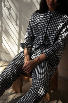 Image of COTTON GINGHAM SHIRT