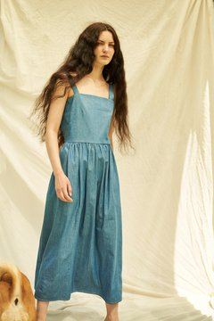 Vestido Amparo denim on internet