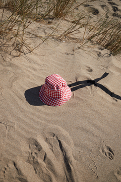Gingham bucket hat on internet