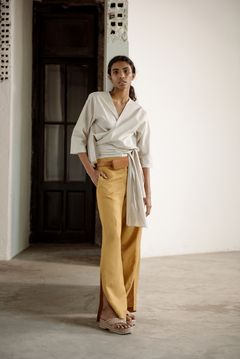 Linen Wide Leg Pants - buy online