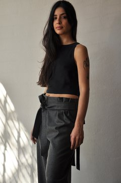 Belted culottes on internet