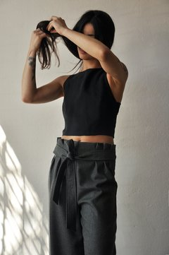 Cropped Tied Top