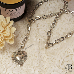 CO 128 - Collar con dije corazon (BIJOU) en internet