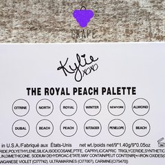 KYLIE THE ROYAL PEACH PALETTE - Grape Brand