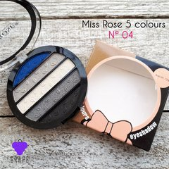 MISS ROSE 5 COLOR EYESHADOW Nº 04