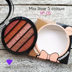 MISS ROSE 5 COLOR EYESHADOW Nº 05