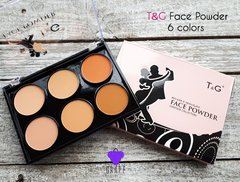 T&G FACE POWDER 6 COLORS
