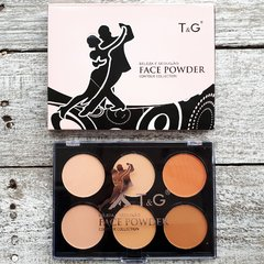 T&G FACE POWDER 6 COLORS en internet