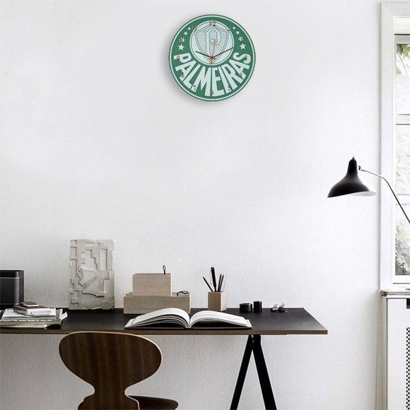 Relógio de parede do Palmeiras Futebol - New Clock ac7054debf