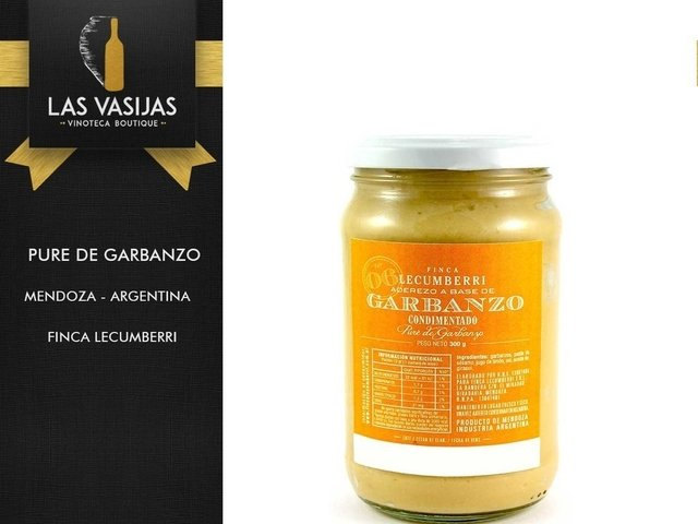 Pure de Garbanzo - Finca Lecumberri