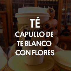Capullo de Té Blanco con Flores (China)