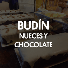 Budín de nueces y chocolate